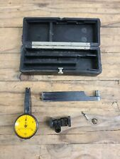 Federal Products Testmaster Dial Test Indicator Jeweled 001 Bakelite Case