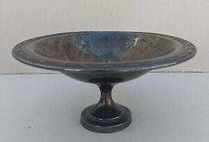 Vintage Oneida silversmiths Argent Plaque Socle compote Bol Bonbons Dish Park Lane