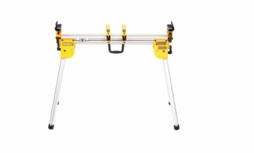 Compact Miter Saw Stand Power Tool Silver Aluminum Universal Heavy Duty Yellow