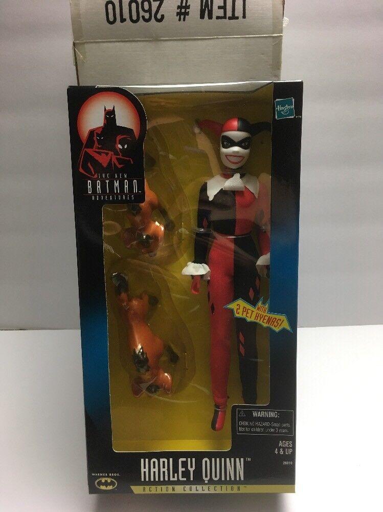 Harley Quinn Figura Acción animada 12  2 las hienas Nuevo Batman Adventures Como Nuevo 1998