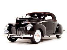 1:18 Signature - 1939 Lincoln Zeyphr - black
