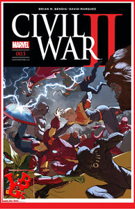 CIVIL-WAR-II-3-03-Mars-2017-Cover-2-2-Marvel-Panini-Coipel-Bendis-NEUF