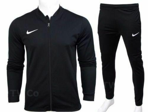 7baae483a Nike Academy 16 Mens Full Tracksuit Zip Jacket Bottoms Pants Football  Training L Black for sale online | eBay
