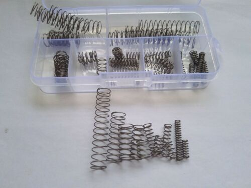 63pcs 0.8mm Wire Diameter 304 Stainless Steel Compression Spring Springs Set