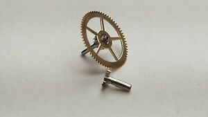 Rolex-Watch-Parts-Part-CAL-1555-8001-Center-Wheel-with-Cannon-Pinion-Genuine