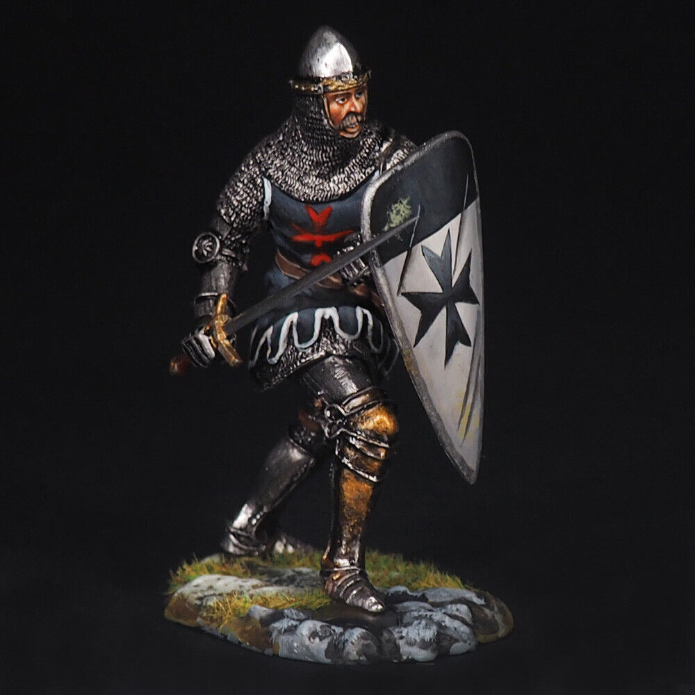 Tin Soldier, Sergeant of the Order of the Tempelriddare, The Crusades, 54 mm
