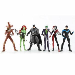 6Pcs-DC-Comic-Batman-Joker-Harley-Quinn-Nightwing-Poison-Ivy-6-034-Action-Figure-Toy