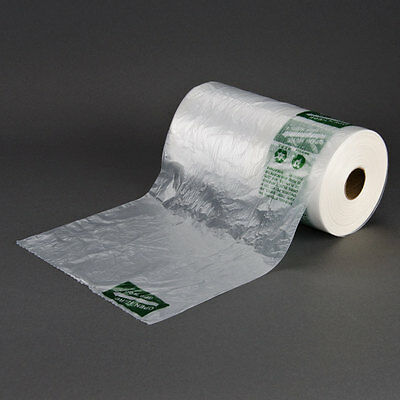 Produce roll bags 10x15 High Density 13 Microns 3000 count 4 rolls