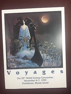 Voyages 25th World Fantasy Convention Program Book 1999 | eBay