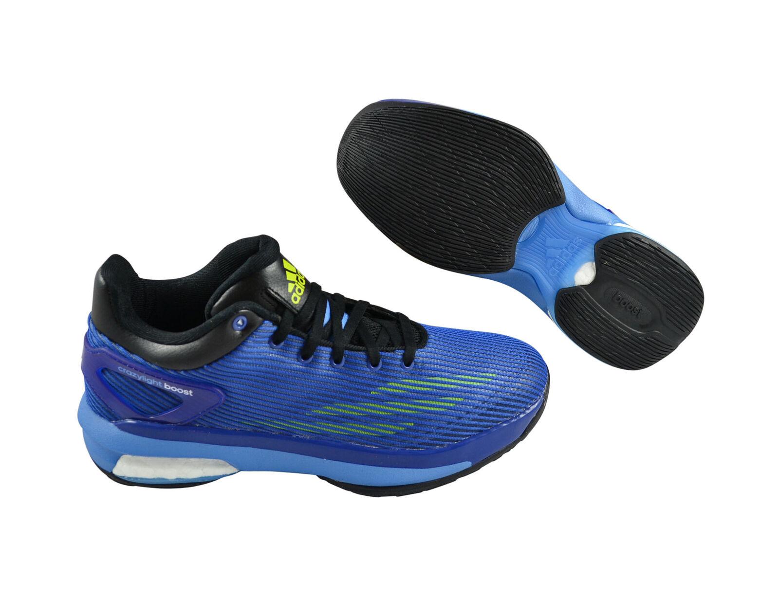 Adidas Crazylight Boost Low Schuhe Blau S83863 Basketballschuhe