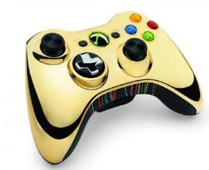 Xbox-360-Star-Wars-Limited-Edition-Wireless-Controller-Chrome-Gold-C-3PO-NEW