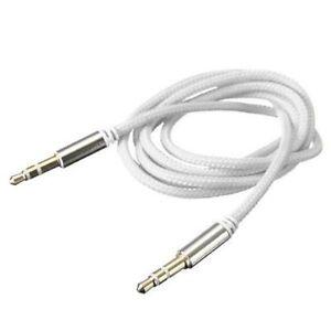 Audio-Kabel-weiss-NEU-3-5-mm-Klinke-1m-Klinkenkabel-AUX-Stereo-MP3-Phone-PC