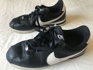 Rico entregar Ahora  Nike Cortez '72 Leather Black White Men's Size 8.5 Shoes Sneakers Classic  Style | eBay