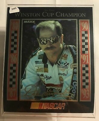 """Fan Apparel & Souvenirs maxx Picture #3595 To Adopt Advanced Technology 1993 Dale Earnhardt """"6 Time"""" Nascar Winston Cup Champion"""