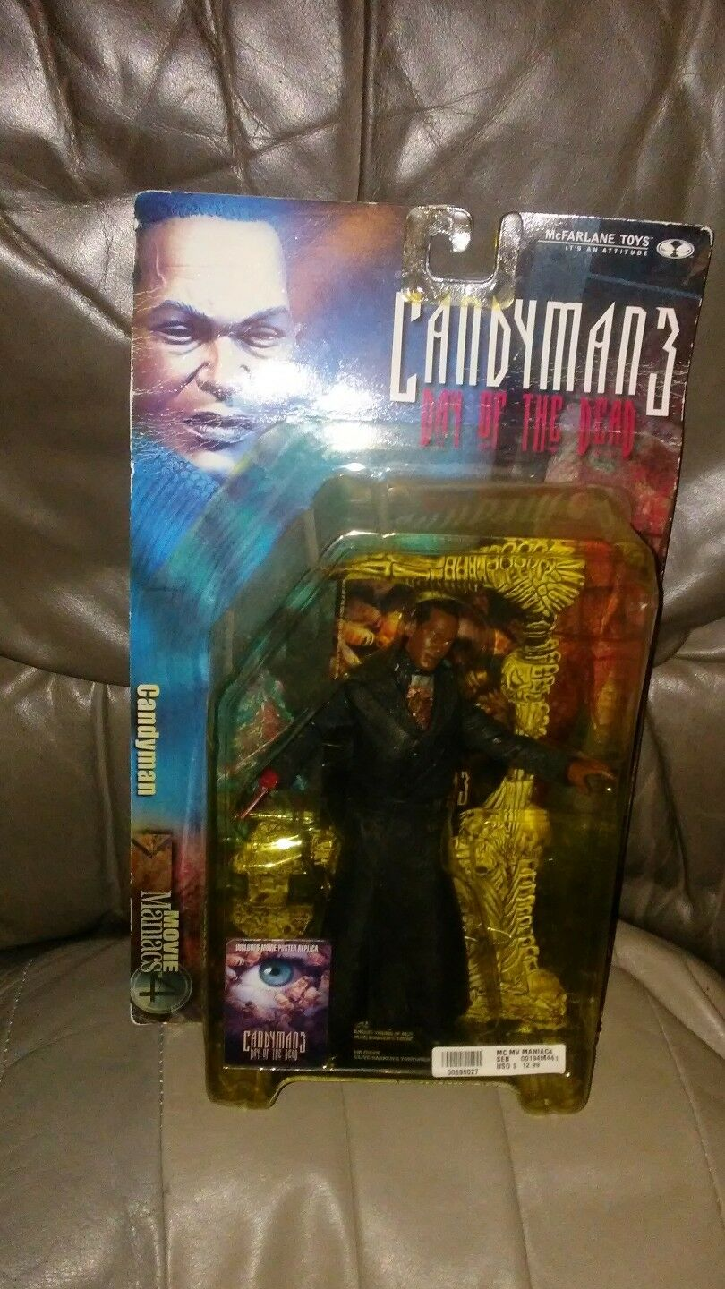 2001 McFarlane's CANDYMAN CANDYMAN CANDYMAN (Candyman 3  Day of the Dead) from ''Movie Maniacs 4  b3f914