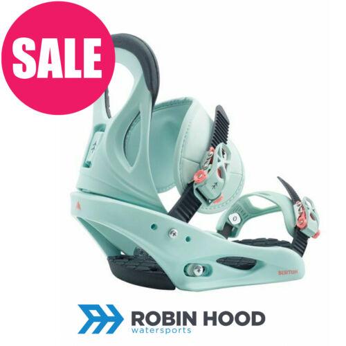 Select your size SAVE 25/% 2020 Burton Citizen Womens Snowboard Bindings Blue