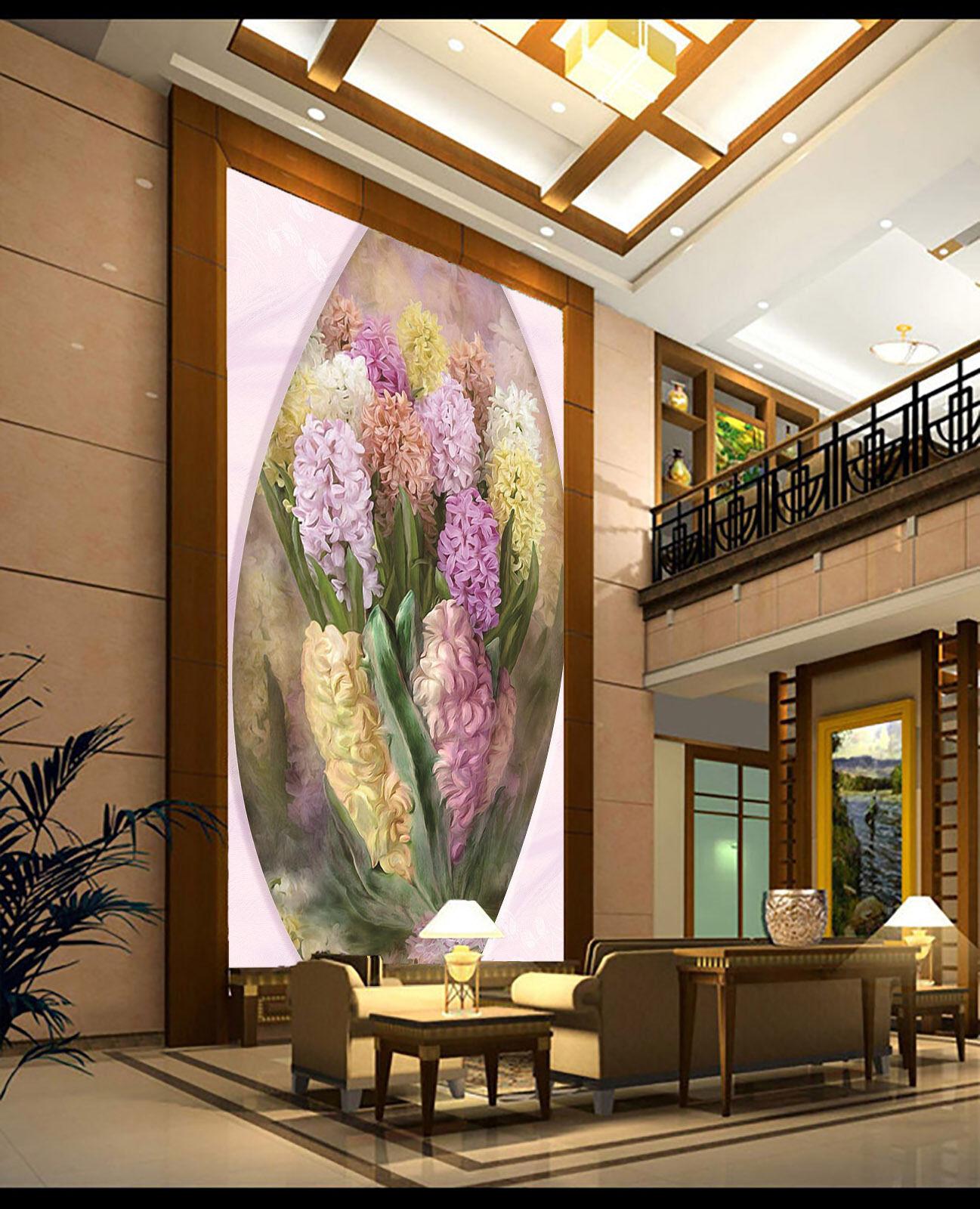 3D color Blossoms 191 Wall Paper Wall Print Decal Wall Deco Indoor AJ Wall Paper