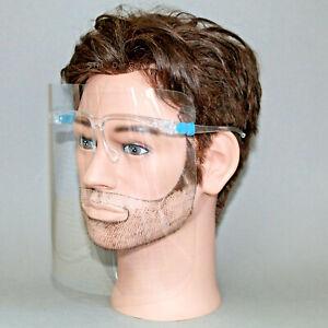 Gesichtsschutz Visier Gesichtsmaske Schutzvisier mit Brillengestell Schutzbrille