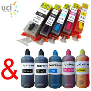 Lot-Refillable-ink-Cartridges-for-Canon-MG5250-MG5350-IP4850-IP4950-MG8250