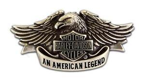 Harley Davidson Mens American Legend Eagle Buckle
