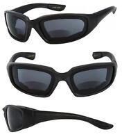 Inner Bifocal Motorcycle Goggles Riding Sunglasses Eva Foam Padded Re49