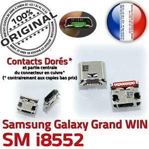 ORIGINAL-Samsung-Galaxy-Win-GT-i8552-Connecteur-charge-a-souder-Micro-USB-Prise
