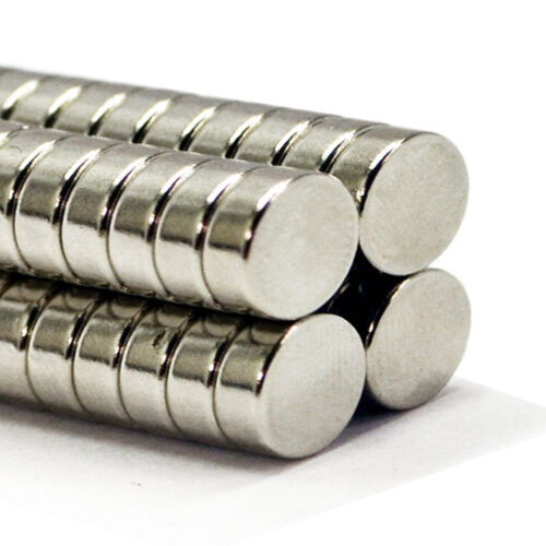 (Pack of 25) 15mm x 4mm Very Strong DIY Industrial Round Neodymium Disc Magnets