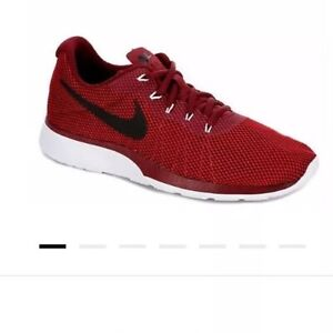 NEW! Nike Tanjun Racer •RED/BLACK/WHITE