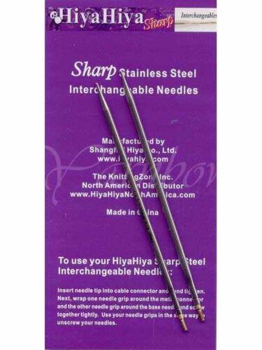"""HiyaHiya 10.00 mm 5/""""  Set of two Brand new 15 US :SHARP Steel Tips:"""