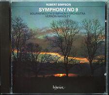 Vernon HANDLEY: Robert SIMPSON Symphony No.9 HYPERION CD Sinfonie Bournemouth
