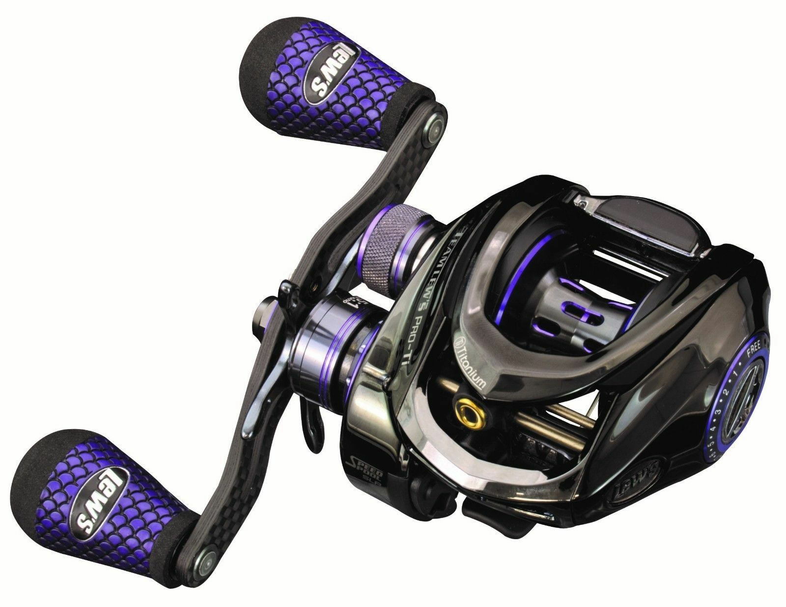 Lew's Team Lew's Pro-Ti SLP Speed Spool 7.5 1 Right Hand Casting Reel - TLPT1SH