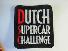 Dutch Supercar Challenge Auto Racing Patch  (#2017)