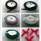 Satin Ribbon DIY Crafts For Wedding Party Hair Accessories Bows Decor Hot TS