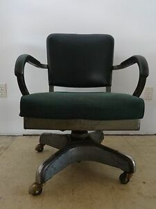 Image Is Loading Vintage Industrial Harter Office Chair Steampunk Retro  Hunter