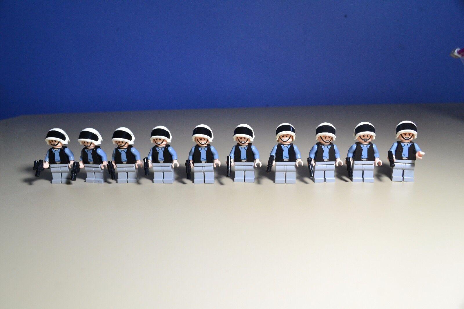 LEGO Star Wars Rebel Scout Trooper Minifigure 7668 10198 lot x 10