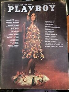 Playboy-Magazine-December-1968-With-Centerfold-amp-Inserts
