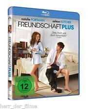FREUNDSCHAFT PLUS (Natalie Portman, Ashton Kutcher) Blu-ray Disc NEU+OVP