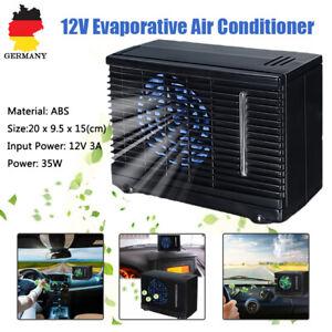 Tragbare-Mini-Klimaanlage-12V-Auto-Camping-Mini-LUFTKUHLER-Sommer-Kuehlventilator