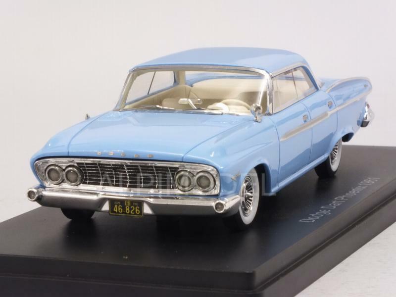 Dodge Dart Phoenix 1961 Light azul 1 43 NEO 46826