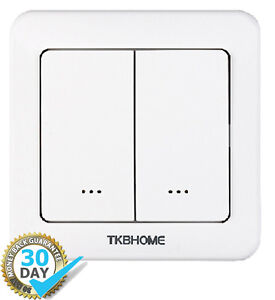 Tkb Z Wave Plus Double Wall Dimmer Tz35 D Gen 5