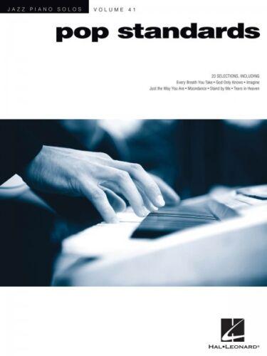 Pop Standards Sheet Music Jazz Piano Solos Series Volume 41 Jazz Piano 000153656