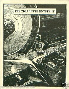 Germany-Machine-cigarettes-Evolves-TOBACCO-HISTORY-HISTOIRE-TABAC-IMAGE-CARD-30s