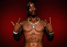 a4 poster 2 pac tupac shakur thug life gangster rap music picture print art