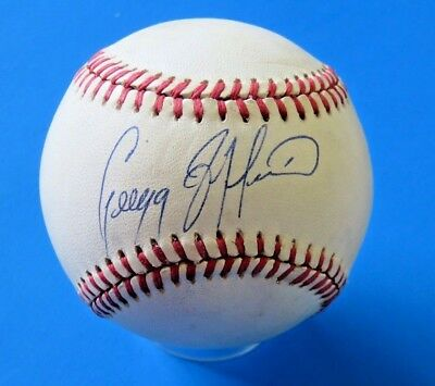 Beautiful Gregg Jeffries Signed Ron Baseball ~ Autograph Ball ~ 100% Guarantee Delicacies Loved By All Autographs-original