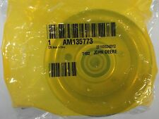 John Deere Genuine OEM Idler Pulley AM135773 on 42C Mower Deck on X300 X304 X310