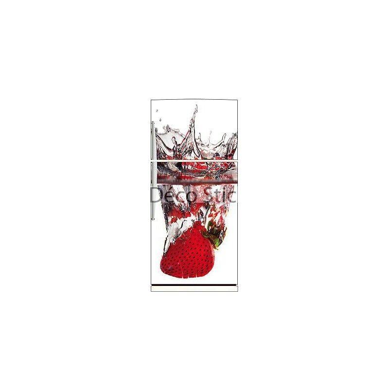 Aufkleber Kühlschrank Erdbeere Spritzer 70x170cm Ref 521 2d07f708f515