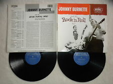 2 LP JOHNNY BURNETTE AND THE ROCK 'N ROLL TRIO - OFFICIAL 12016-2 DENMARK µ