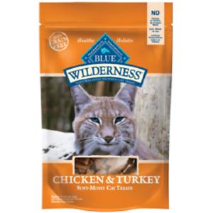 Blue-Buffalo-Wilderness-CHICKEN-TURKEY-Cat-Treats-2-oz-Healthy-Holistic