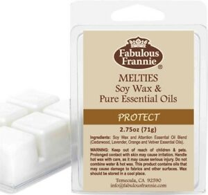 Protect 6oz All Natural Soy Candle Pure Essential Oils Fabulous Frannie