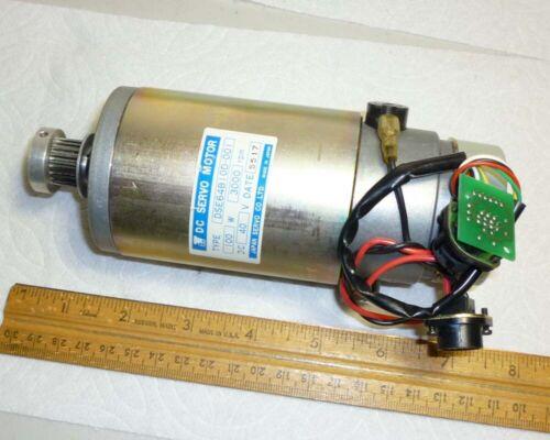 JAPAN SERVO  DSE64B10D-001 100W 40VDC Servo Motor//Encoder, Used IAI